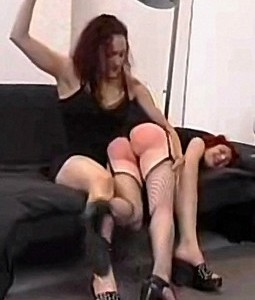 Spanking Video: The Freeloader