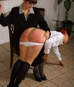 Spanking Video: School Girl