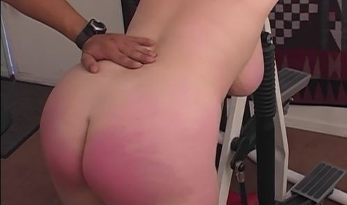 Spanking Video: BBW Workout