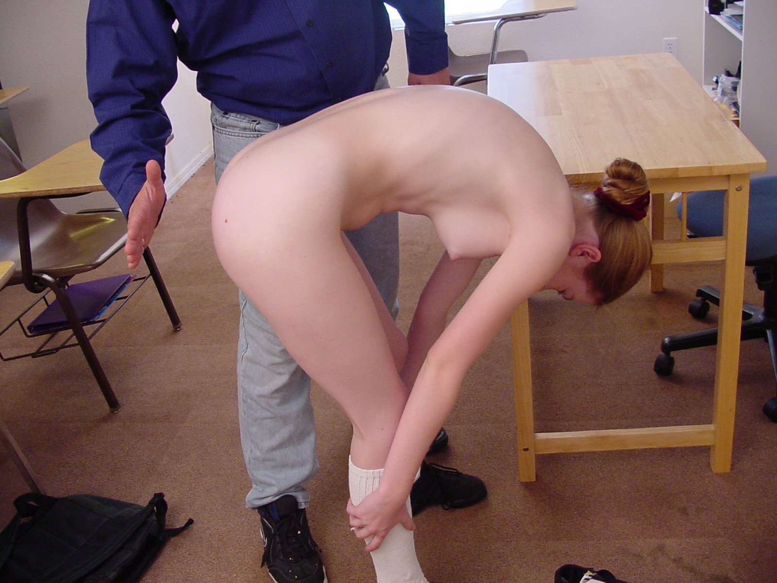 Spanking Video: Cheer for Nicole