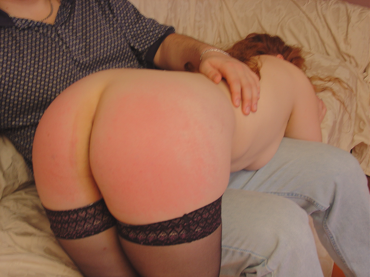 Spanking Video: Claire is Late